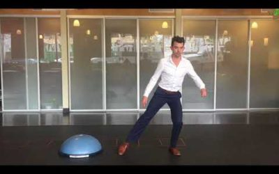 Bosu Ball Lateral Stability Exercises.